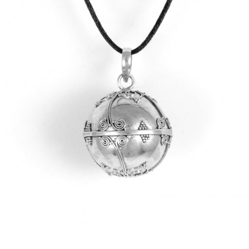 Bola argent Mantra - HARMONY BALL - Boutique Nirvana