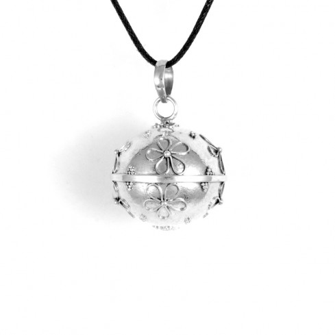 Bola argent Flower - HARMONY BALL - Boutique Nirvana