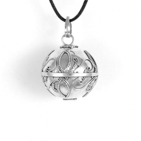 Clochette des anges Sakari en argent - BOLAS DE GROSSESSE & CLOCHETTES DES ANGES - Boutique Nirvana