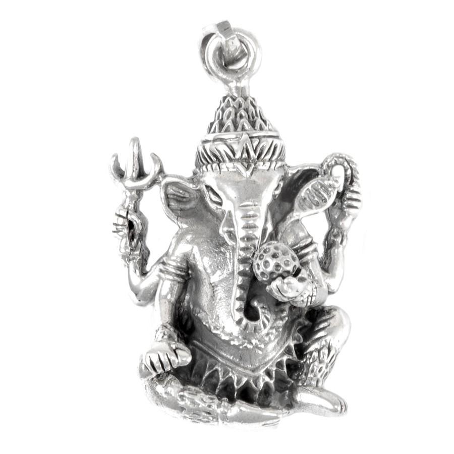 Pendentif en argent Ganesha