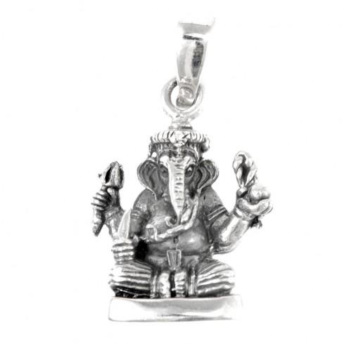 Petit Ganesh en argent - SILVER PENDANT - Boutique Nirvana