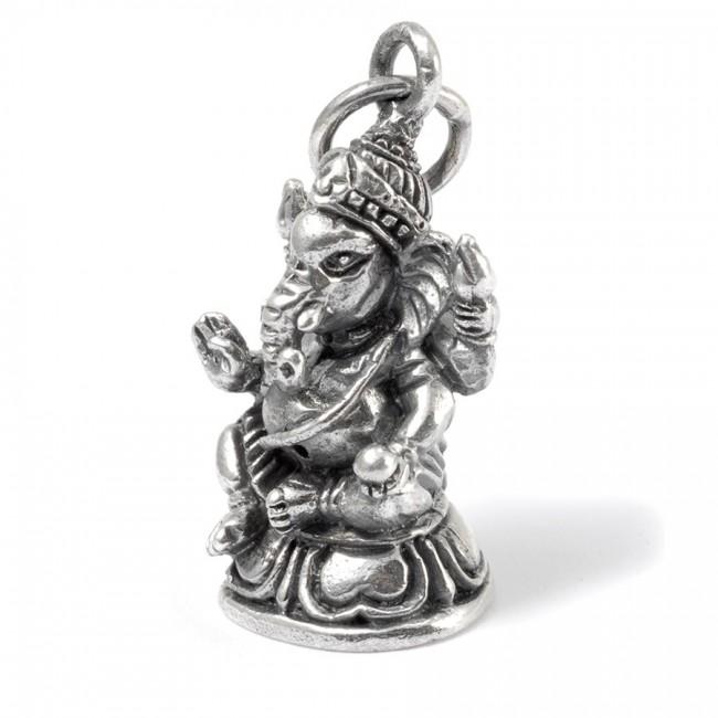 Pendentif Ganesha Vinâyaka argent - PENDENTIFS ARGENT - Boutique Nirvana