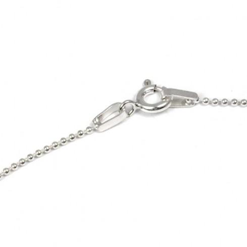 Chaine en argent petites boules - Silver Chains and Cables - Boutique Nirvana