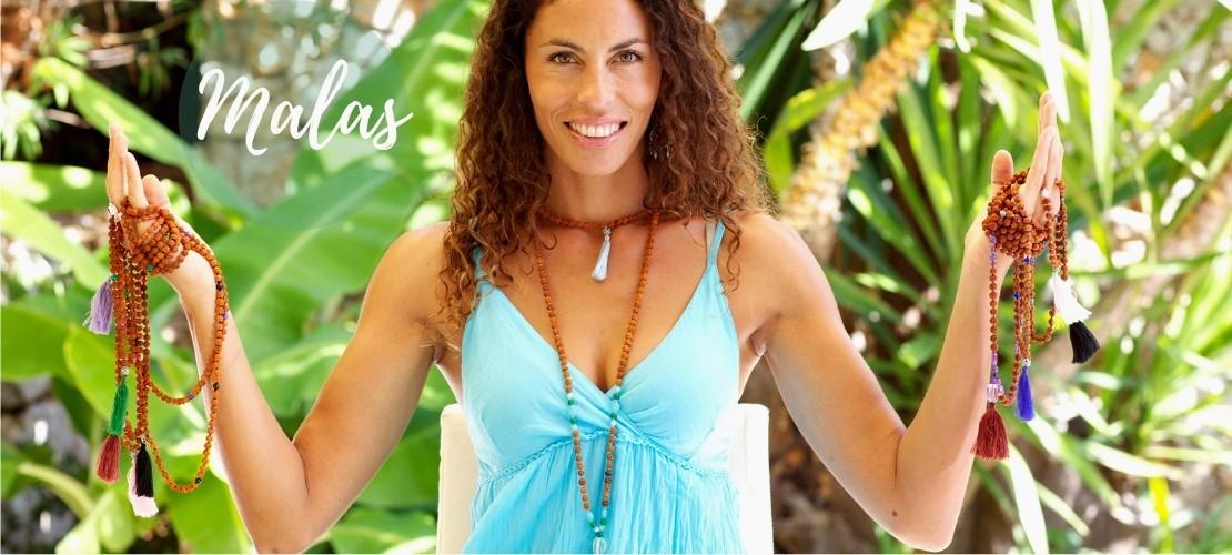 Catégorie MALAS PIERRES FINES - Boutique Nirvana : Malas en rudraksha