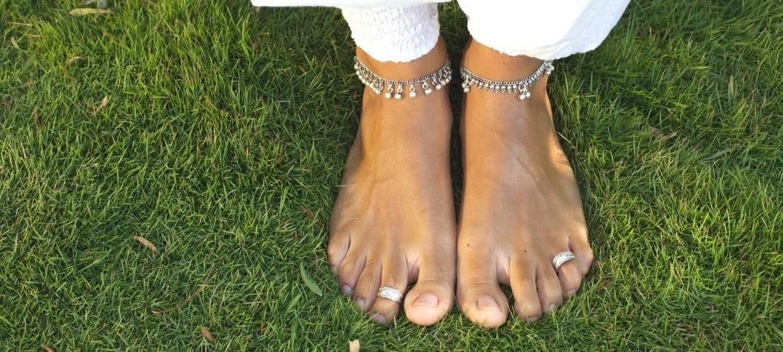 Bagues de pieds