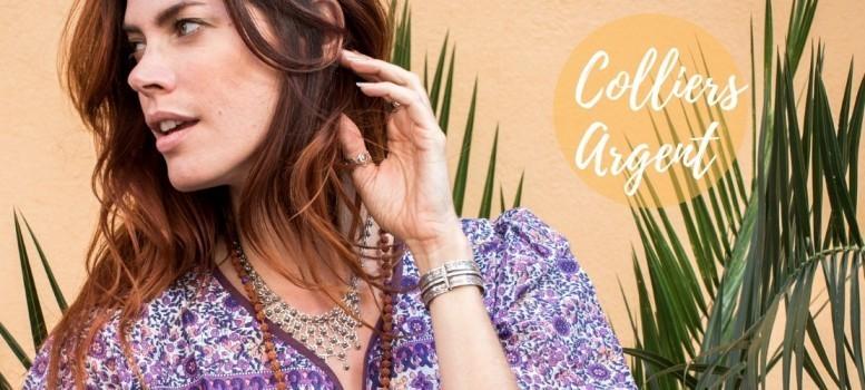 Catégorie COLLIERS ARGENT - Boutique Nirvana : Cable d'argent pendentif strass , Collier argent pendentif Ste Lucie , Collie...